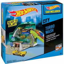 Conjunto Hot Wheels Hw City Mini Lava Rápido Mattel Bgt80