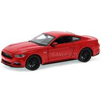 Ford Mustang Gt 5.0 2015 Maisto 1:24 Vermelho 31508-vermelho