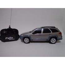 Carro Controle Remoto Fiat Palio Adventure Marrom 1/18 Cks