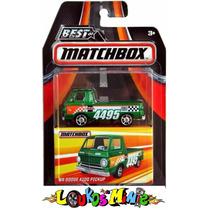 Matchbox ´66 Dodge A100 Pickup Lacrado 1:64 Serie 1 Borracha
