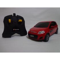 Carro Controle Remoto Fiat Novo Palio Vermelho 1/18 Cks