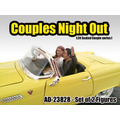 Set Figuras Couples Night Out 1/24 American Diorama
