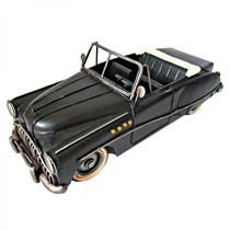 Carro Conversível Miniatura Ferro Vintage E Retrô Ref.0040