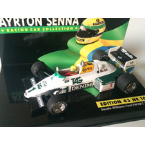 Minichamps 1/43 Williams Fw08c Ford F1 Asc16 Senna Test 1983