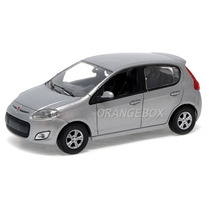 Fiat Novo Palio 2012 Norev 1:43 Prata 771180-prata
