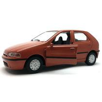 Miniatura Fiat Palio 1995 Laranja Brasileiros 1:36