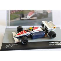 Ayrton Senna F1 Miniatura Toleman Tg184 1984 Nº Lendas 5