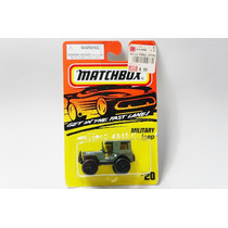 Matchbox Toys Military Jeep Militar Superfast Blister