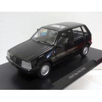 1/24 Fiat Uno 1983 55s Miniatura Leo Models Mille Perfeito