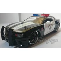 Camaro 2010 Ss Police Gm 1/24 Jada Toys Rebaixado Chevrolet
