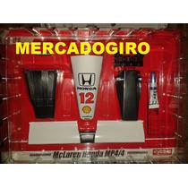 Miniatura Peças Mclaren Ayrton Senna 1:8 Fasc Para Montar