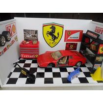 Diorama Garagem Oficina Ferrari Testarrosa 1/18
