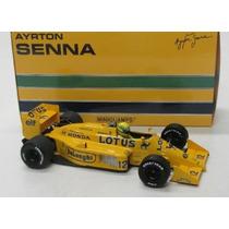1/18 Ayrton Senna Lotus 99t Honda Formula 1 1987