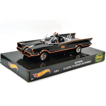 Hot Wheels Batman Classic Tv Series Batmovel 1:24 Filme