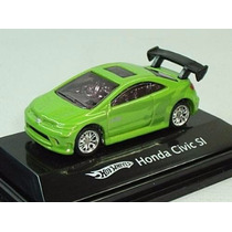 Hot Wheels Ho Honda Civic Si Verde Mattel 1:87