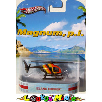 Hot Wheels Retro Island Hopper Helicoptero Magnum, P.i. Lacr
