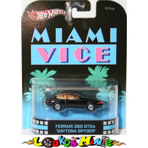 Hot Wheels Retro Ferrari 365 Gts4 Daytona Spyder Miami Vice