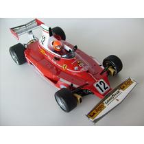 Miniatura F1 Ferrari 312t Niki Lauda Campeão Exoto 1:18