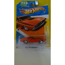 Hot Wheels - 71 Dodge Challenger Rt - Lanterna Verde