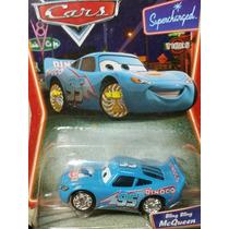Disney Cars Mcqueen Dinoco Blings Raro