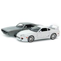 Kit Dodge Charger + Supra Velozes Furiosos 7 1:24 97444
