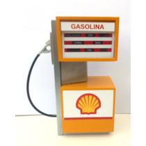 Miniaturas Bomba De Gasolina Shel - Texaco - Ipiranga - Esso