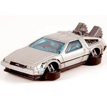 Time Machine Delorean Back To Future Hover Hot Wheels 2015
