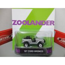 Hot Wheels Retro Entertainment Zoolander 67 Ford Bronc 1:64