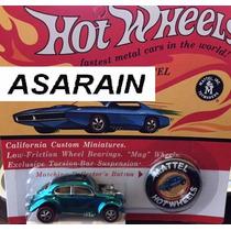 Vw - Fusca Azul Rlc Hot Wheels - 1/64