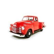 Chevrolet 1950 3100 Pickup Escala 1:25 - Maisto Vermelha.