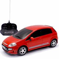 Carro Controle Remoto Fiat Punto T Jet 1:18 Cks Toys