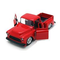Pick Up Chevy Stepside Jada Toys Mini Coleção Escala 1/24