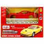 Kit Montar Ferrari 550 Maranello 1:24 Maisto 39939-vermelho