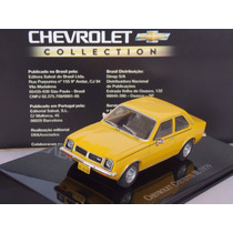 Chevrolet Chevette Sl Amarelo 1979 1:43 Chevrolet Collection