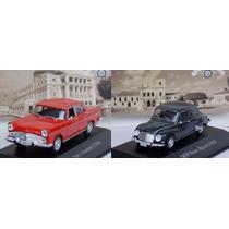 Miniatura Dkw + Simca Chambord Inesquecíveis Brasil 1/43
