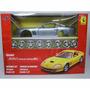 Kit Montar Ferrari 550 Maranello 1:24 Maisto 39939-azul