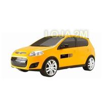Miniatura Fiat Palio Sporting Amarelo 27cm - Plástico