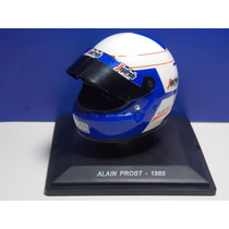 Miniatura Capacete Alain Prost 1/5 1985