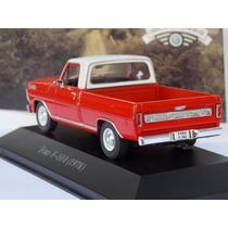 Miniatura Carros Inesquecíveis Do Brasil Ford F-100 1978-ixo