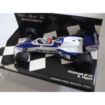 Minichamps 1/43 Brabham Bt52 Bmw Gp Brazil F1 Piquet Wc 1983