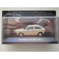 Volkswagen Gol Bx 1981 - Carros Inesquecíveis Do Brasil 1:43