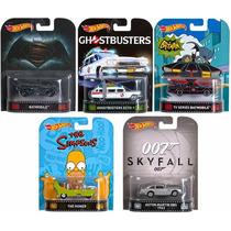 Coleção Hot Wheels Retro Lote A Com 5 Carros - Mattel Dmc55