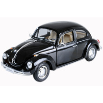 Vw Fusca Welly 1/24 Preto