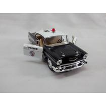 Miniatura Chevrolet Bel Air Policia 1957 Escala 1:40
