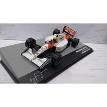 Ayrton Senna F1 Miniatura Mclaren Mp4/6 1991