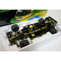 Minichamps 1/18 Lotus Renault 98t Turbo F1 Senna 1986 Ayrton