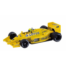 Miniatura Lotus 99t 1987 Ayrton Senna 143 Lendas Brasileiras