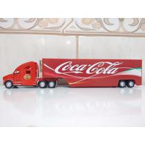 Linda Carreta Coca Cola 33cm Frete Via Mercado Envios