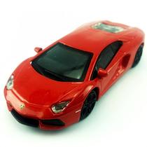 Burago 1:45 Street Fire Box - Lamborghini Aventador Laranja