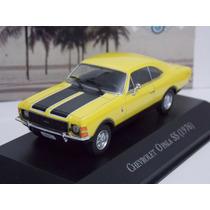 Miniatura Opala Ss Carros Inesquecíveis Do Brasil Ss